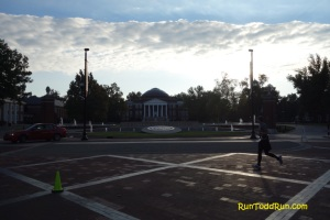 U of L - The sun never really came out from behind that cloud line