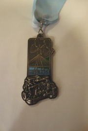 Medal with a Cummins Engine on it!