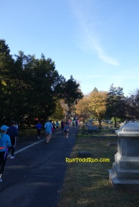 Entering Cave Hill Cemetery