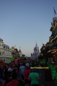 Best part - running up Main Street